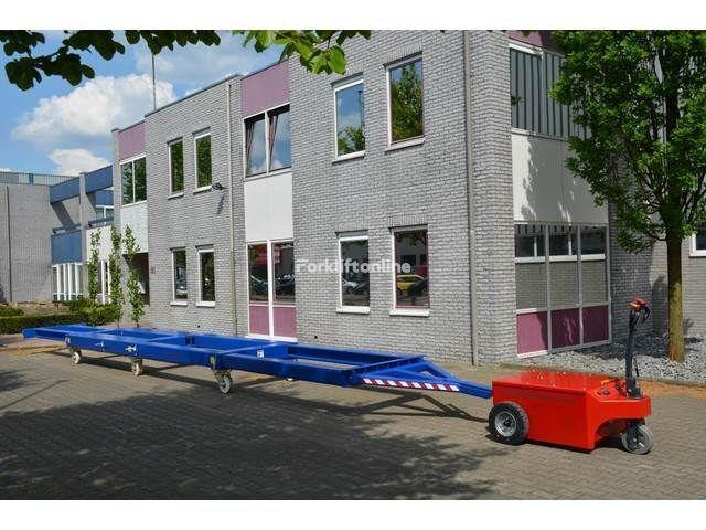 remorque industrielle VERHAGEN Zware uitschuifbare lastwagen