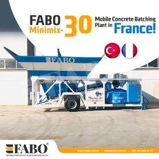 centrale à béton FABO MINIMIX-30M3/H MINI CENTRALE A BETON MOBILE neuve