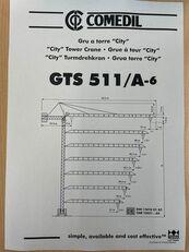 grue à tour COMEDIL GTS 511