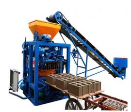 machine de fabrication de parpaing SINOWAY QT4-24 neuve