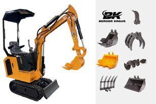 mini-pelle BERGER KRAUS Mini Excavator BK800B with FULL equipment neuve