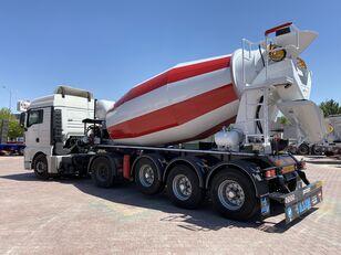 semi-remorque malaxeur ALIM mixer semi trailer concrete mixer semi-trailer neuf
